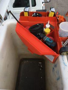 Bucket Truck Tool Bin