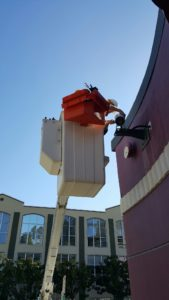 THE BUCKET TRUCK TOOL BIN IN ACTION...!