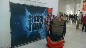 The Shark Tank experience.
