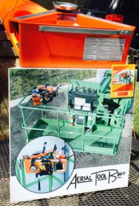 Aerial Tool Bin Product Display Stand