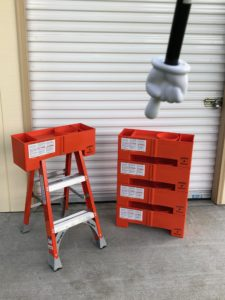 """STACK it and STORE it""...! Contractors will appreciate this feature for multiple unit storage...!"
